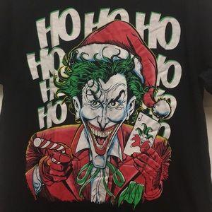 Joker Christmas.Hohoho Joker Christmas Tee